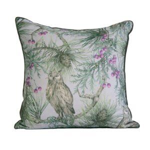 Pine Owl Cushion