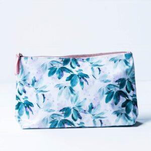 Cosmetic Bag - White/Multi
