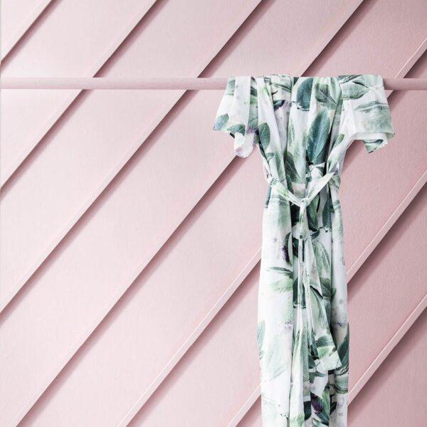 Robe - White/Multi
