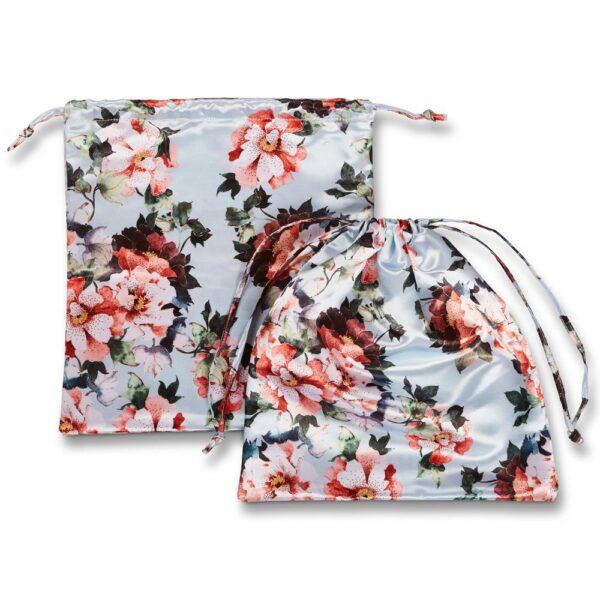 Floral Lingerie Bag