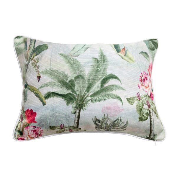 Sanctuary Belize Cushion - 35x50 - Palm Tree Garden Light