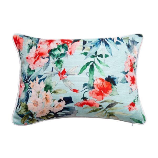 Sanctuary Belize Cushion - 35x50 - Hibiscus Garden