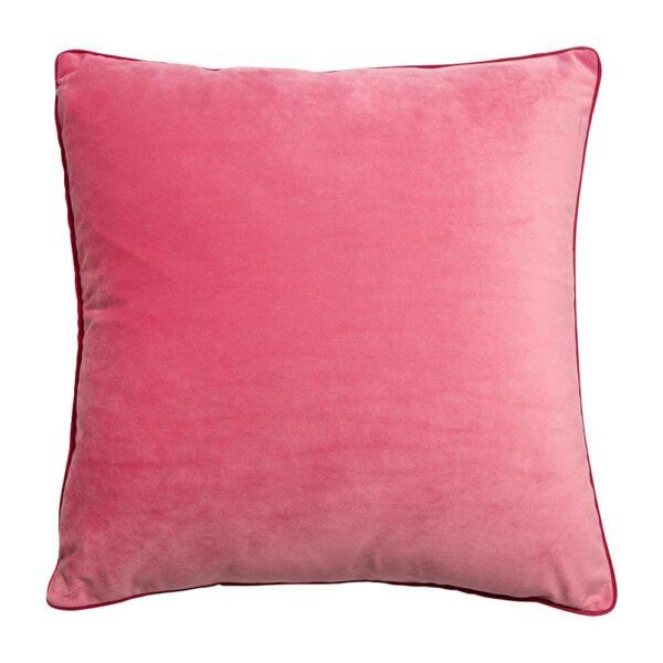 Sanctuary Belize Velvet Cushion - 50x50 - Pink