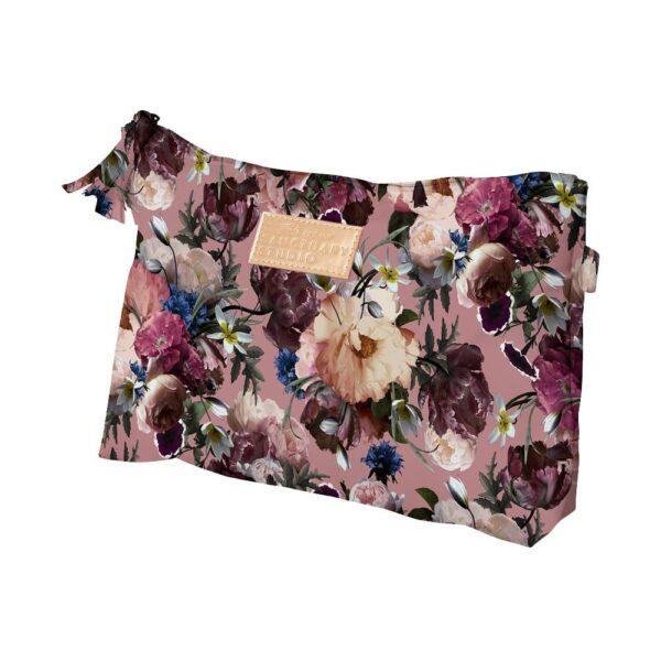 Cosmetic Bag Antique Rose Floral