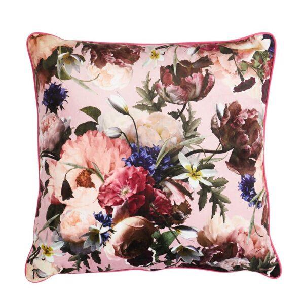 Cushion Antique Rose Floral