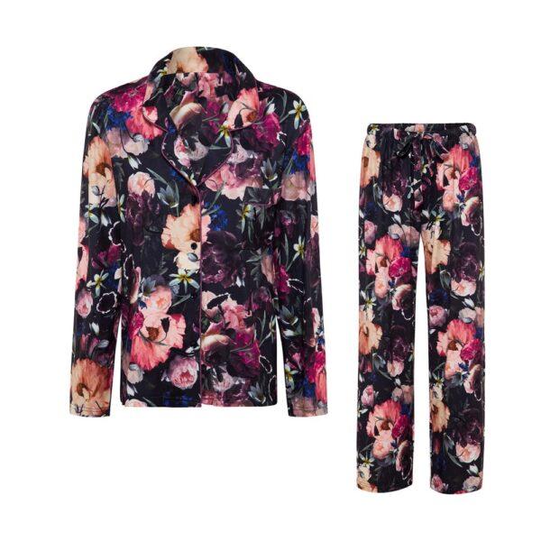 Pyjamas Blueberry Floral