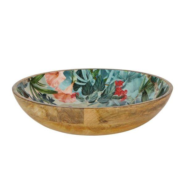 Mangowood Bowl - Wild Flower