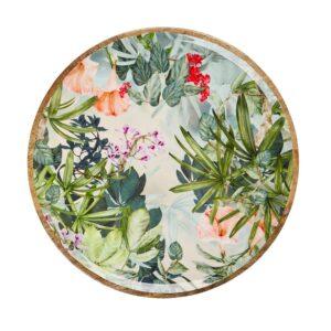 Mangowood Platter - Wild Flower
