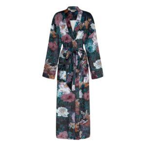 Robe - Black Floral