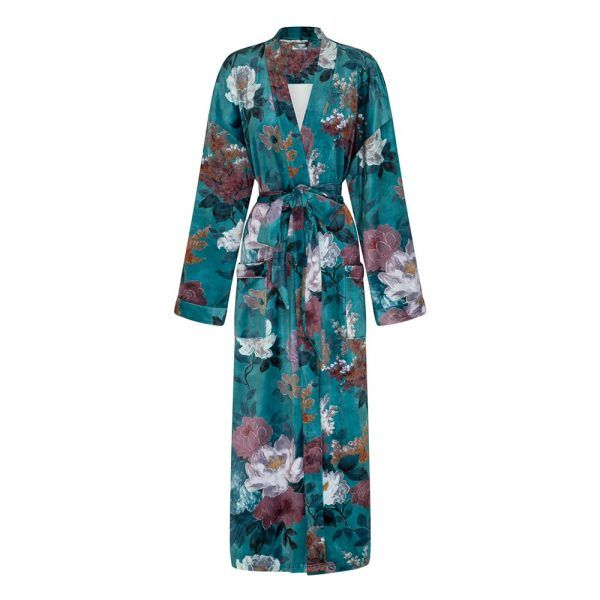 Robe - Green Floral