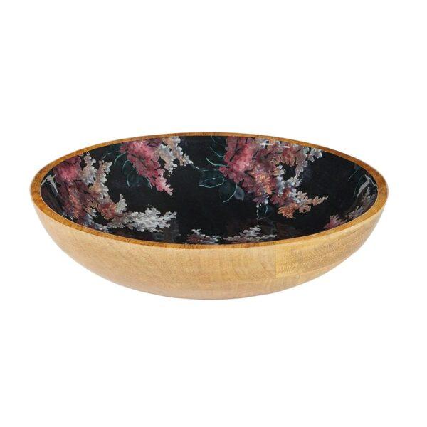 Mangowood Bowl - Black Stock Floral