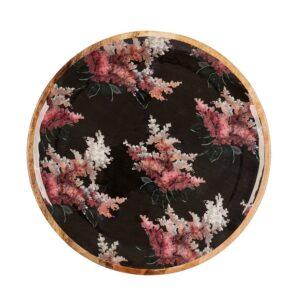 Mangowood Platter - Black Stock Floral