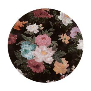 Placemats - Black Floral
