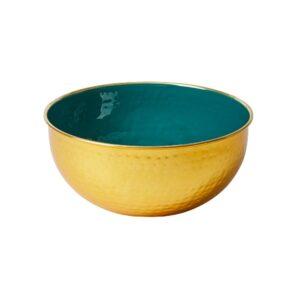 Brass Bowl - Green