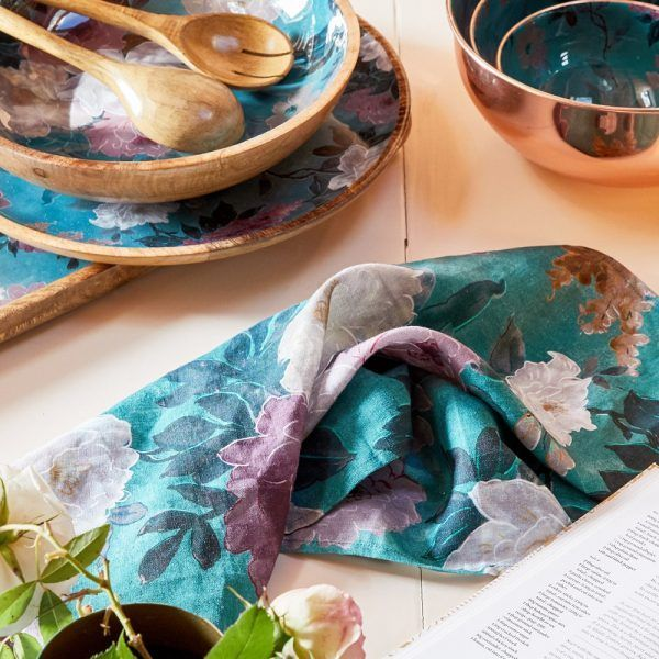 Tableware - Green Floral