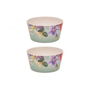 Sanctuary Studio - Tableware - Ceramic Bowl Set - Sage-min
