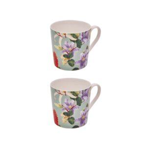 Sanctuary Studio - Tableware - Ceramic Mug Set - Sage-min