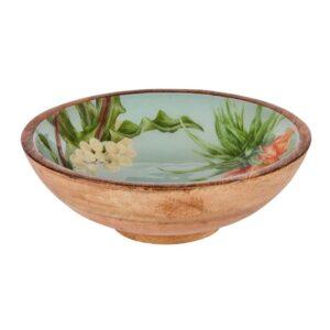 Sanctuary Studio - Tableware - Mangowood Bowl 25cm - Sage-min