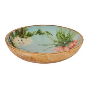 Sanctuary Studio - Tableware - Mangowood Bowl 30cm - Sage-min