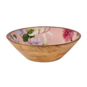 Sanctuary Studio - Tableware - Mangowood Bowl 34.5cm - Pink-min